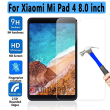 New Tempered Glass For Xiaomi Mi Pad Mipad 4 Mipad4 8.0 inch 2018 Tablet Screen Protector 9H Toughened Protective Film Guard