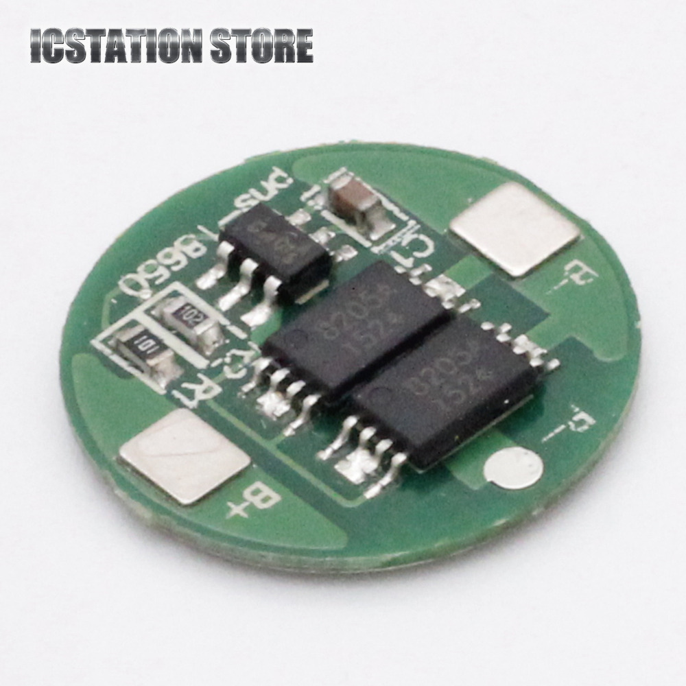 4.2V 6A 1S Lithium Battery Protection PCB BMS Board for 18650 18550 Li-ion Lipo Battery Cell protection circuit 4s 30a bms pcm pcb battery protection board for 14 8v li ion lithium battery cell pack sh04030029 lb4s30a