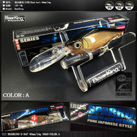Retail 2016 Good Fishing Lures Minnow Shad Quality Professional Hard Baits 8cm 14g Bearking HOT MODEL
