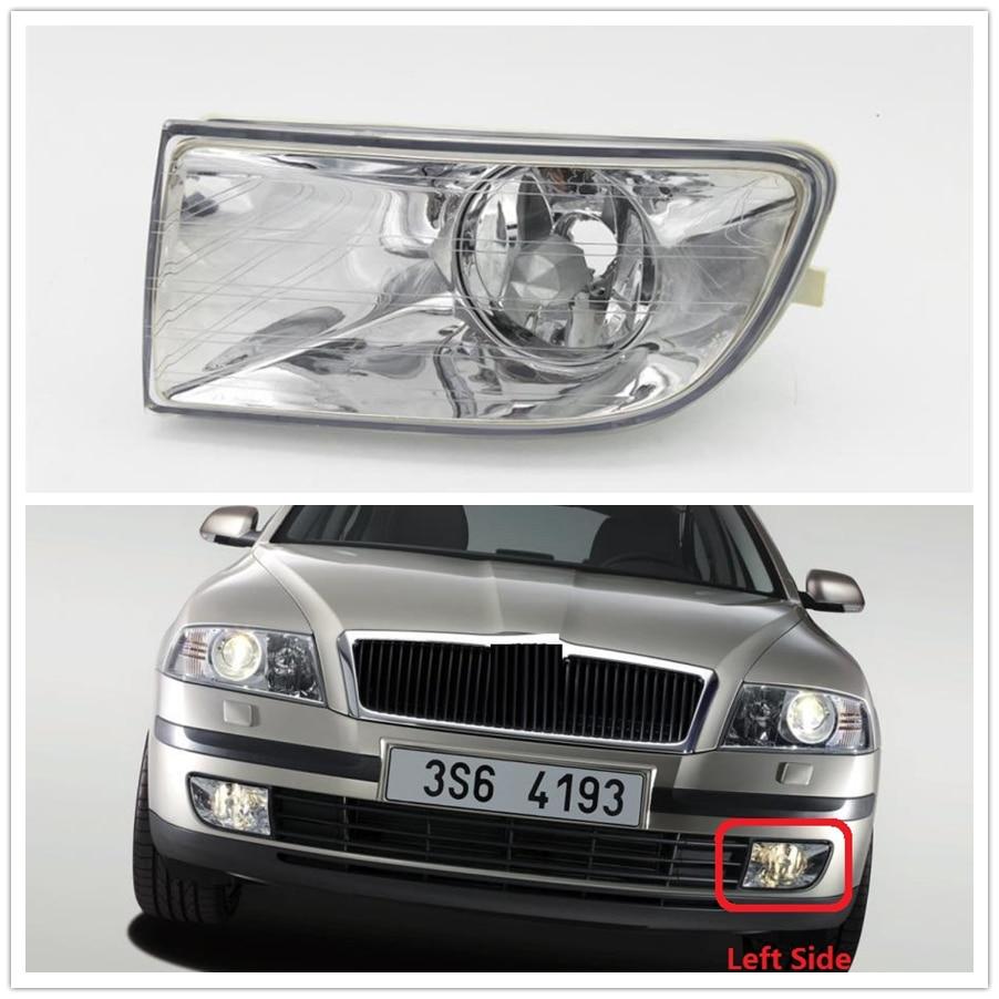 Car Light For Skoda Octavia A5 MK2 Sedan Combi 2004 2005 2006 2007 2008 Car-styling Front Fog Light Fog Light Left Driver Side