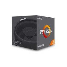 AMD Ryzen 3 1200 R3 1200 CPU Original โปรเซสเซอร์ซ็อกเก็ต Quad Core AM4 3.1GHz 10MB TDP 65W Cache 14nm DDR4 เดสก์ท็อป YD1200BBM4KAE