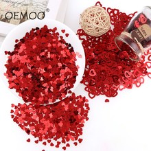 US $0.78 28% OFF|15g/30g/45g Heart  Paillettes Glitter PVC Lose Sequins Beautiful GlitterWedding Party Table Decoration for Romantic Atmosphere-in Banners, Streamers & Confetti from Home & Garden on Aliexpress.com | Alibaba Group