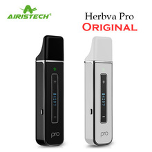 Original Herbva pro dry herb Vaporizer kit OLED Temp Control Screen Vape Pen Herbal electronic cigarette Kits