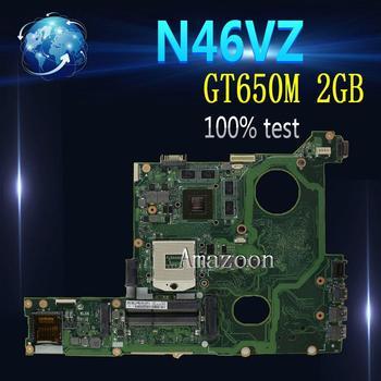 Amazoon  N46VZ GT650M 2GB mainboard REV2.1 For ASUS N46V N46VM N46VZ N46VJ N46VB laptop motherboard 60-N8IMB1400 100%Tested