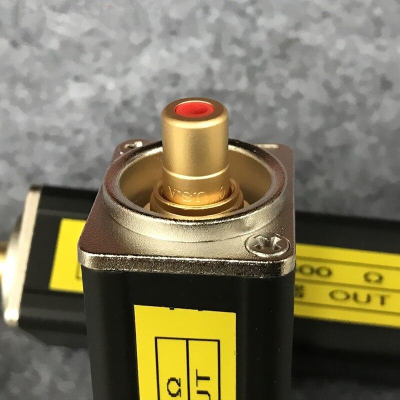 Isolateur Audio Permalloy importé RCA-RCA filtre anti-bruit Audio isolateur de boucle de sol pour voiture et maison stéréo
