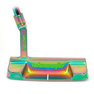 Image 3 - 高品質のゴルフクラブパターカラー右手男性スチールシャフトcncミルドパター送料shipiping
