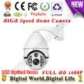 1080P cctv IP PTZ high speed dome camera 18X Optical zoom onvif protocol camera IR LED 150M night vision distance