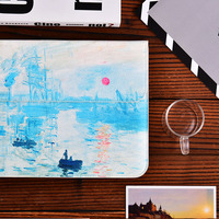 White Monet Sleeve Cover For Macbook 12 Inch Air 13 3 Pro 13 3 Retina Screen