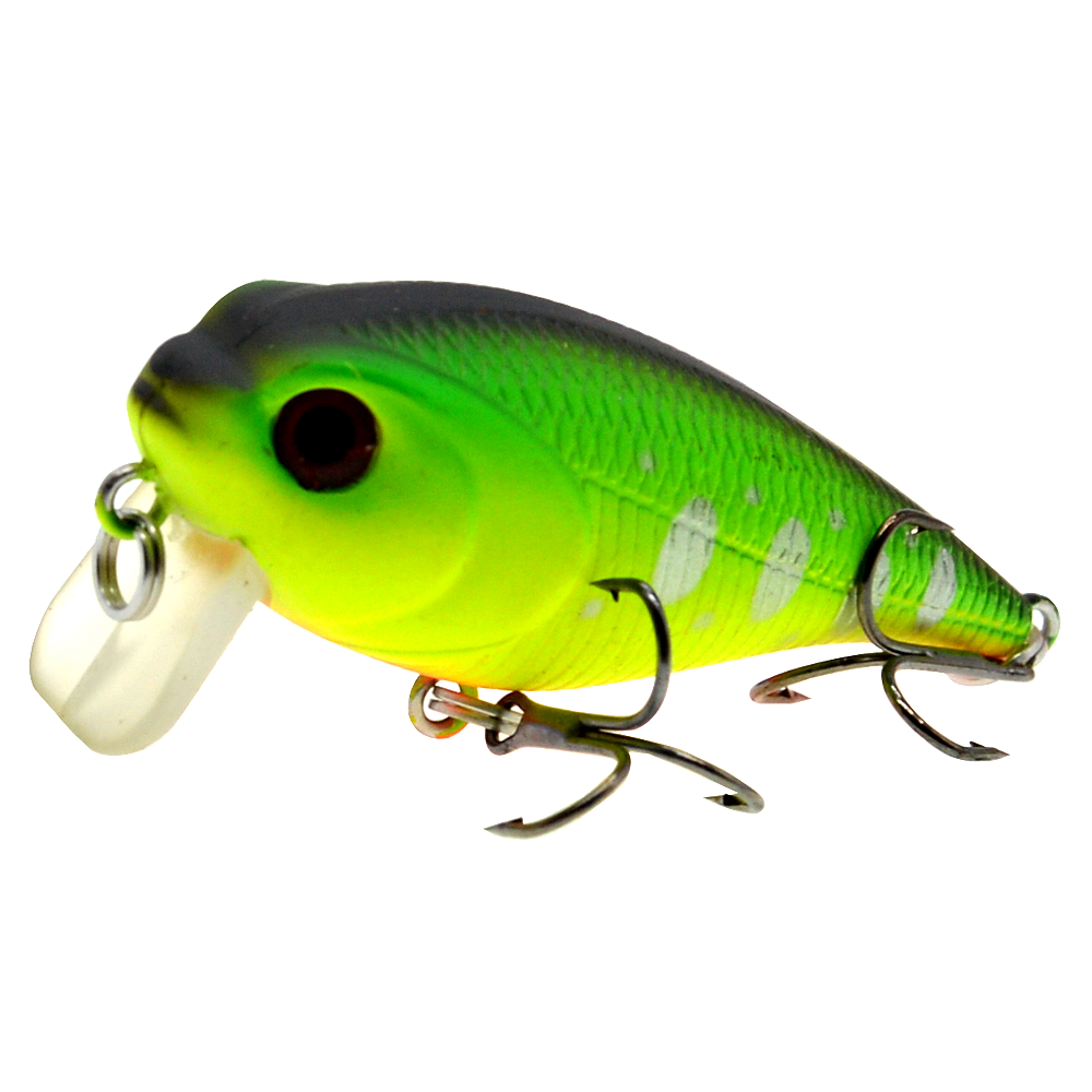 Image 2 - 55mm 9g Custom Wholesale Plastic Hard Body Lures Artificial Bait Japan Crankbait Fishing Lure Pesca-in Fishing Lures from Sports & Entertainment