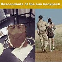 Sıcak TV drama the Descendants güneş kadın sırt Song Hye Kyo aynı çanta kız öğrenci Dize çantası