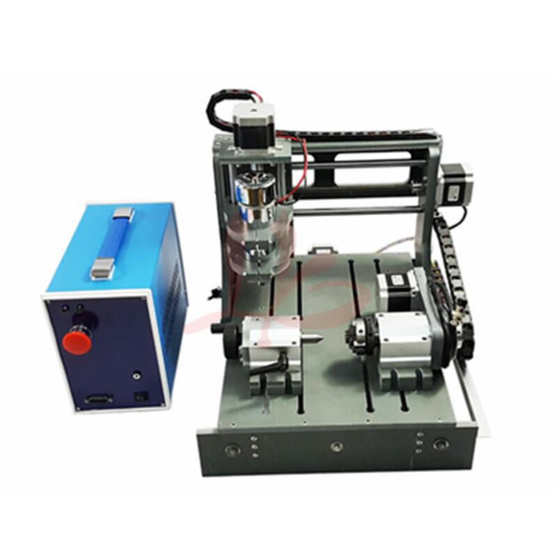 3D CNC Router 2030 300W 4 Axis CNC Carving Machine Wood Cutting Mini lathe cnc engraving machine 2030 parallel port 4axis wood mini lathe for universal work