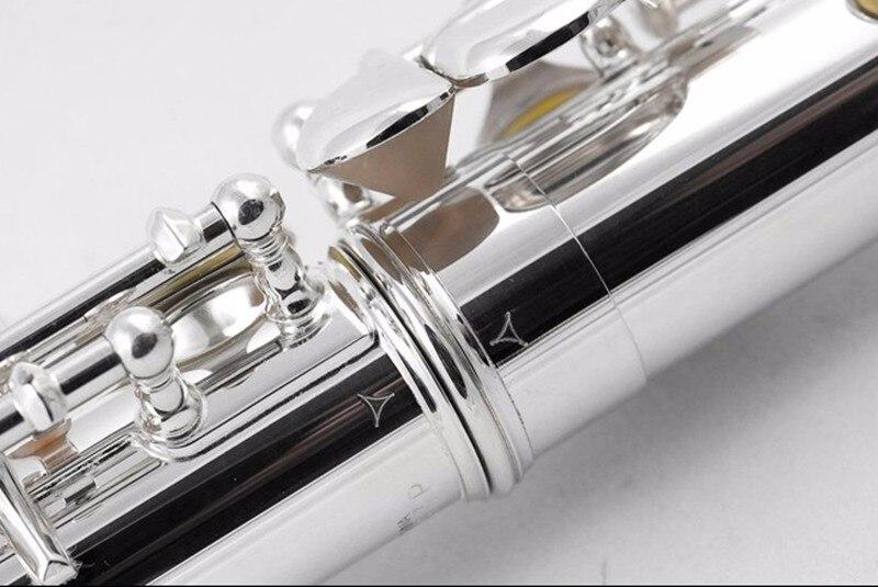2018 New Hot Flûte 211SL instrument de musique Flûte 16 Fermé E-Clé Haute Qualité Flûte musique professionnelle gratuite