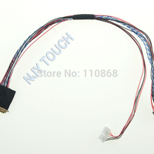 Светодиодный 40 штифтов кабель низковольтной дифференциальной передачи сигналов I-PEX 20453-20455 40Pin 1ch 6 бит IPEX 20455 для 15,6 inch 1366x768 B156XW02 LP156WH2 LP156WH4 LTN156AT05
