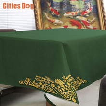 tablecloth Modern luxury high-grade pattern nappe rectangulaire Decorate home wedding tablecloth on the table round table cloth