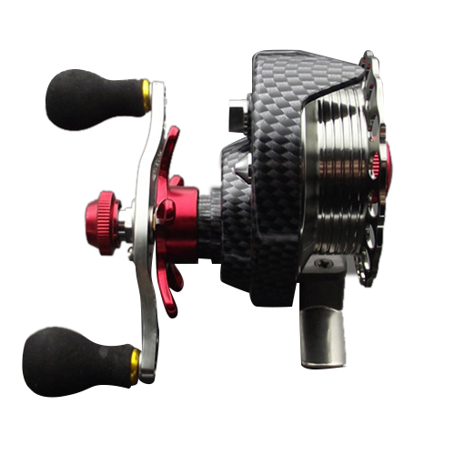 Left hand front end raft fly fishing reel Micro-round lead raft fishing reel for Fishing reel