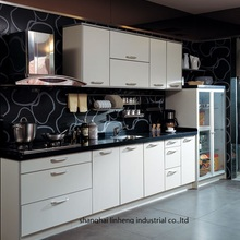 Кухонные шкафы из меламина/mfc(LH-ME017