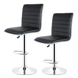 JEOBEST 2 шт. Современный Стиль искусственная кожа Регулируемая поворотные барные стойки гидравлический барный стул Кухня стул в стиле кофе HWC