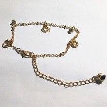 3 Stars Moon Combination Crystal Bracelet Gold Fine Bracelet Fine ankles Priced Direct Selling