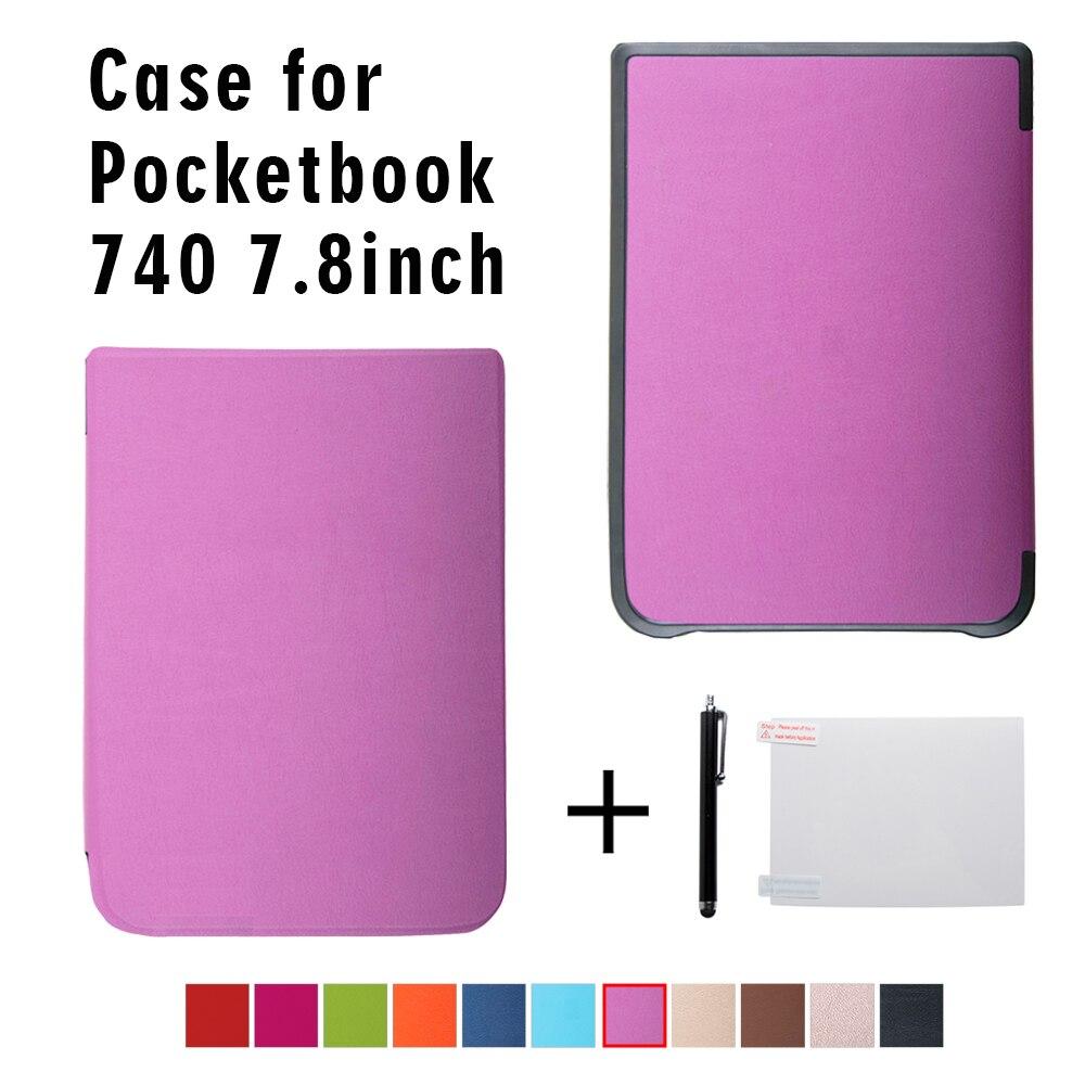 Folio Flip Case for New PocketBook 740 InkPad 3 Ereader 7.8'' Auto Wake/sleep+gift