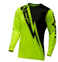 Popular summer top professional downhill T-shirt breathable cycling jersey  long-sleeved clothing