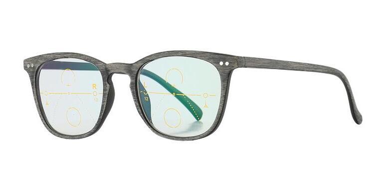 Zoom inteligente de madera Gafas de lectura bifocales progresivas - Accesorios para la ropa - foto 4