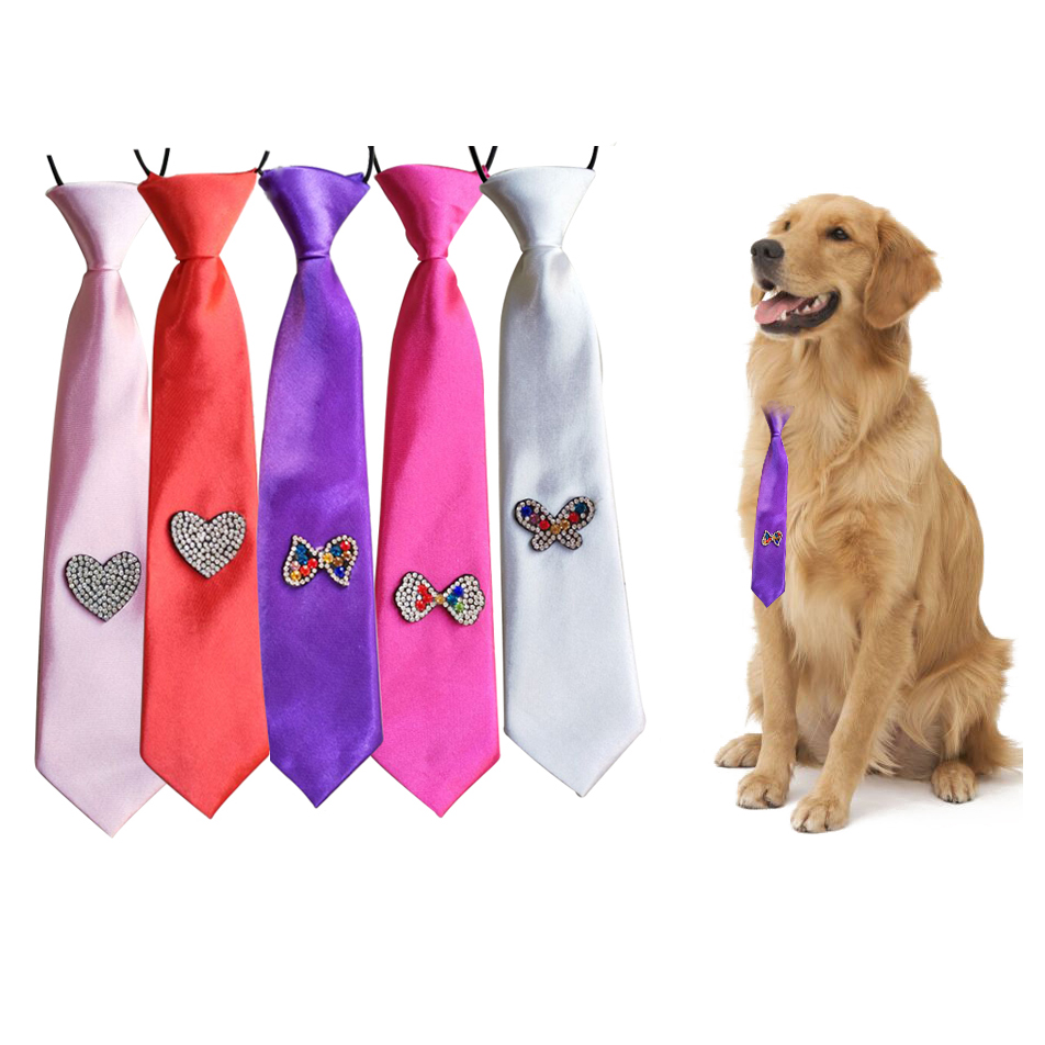 30pcs New Valentine's Day Pet Dog Ties Hight Quality
