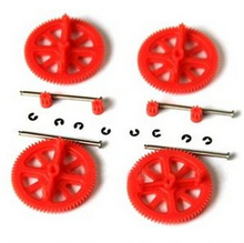 Parrot AR Drone 2 0 1 0 Quadcopter Spare Parts Motor Gears Shafts Red Free shipping