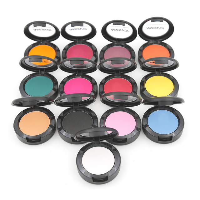 Mesvol Matte EyeShadow  Single Eye Shadow 1 pics  Eyes Makeup Red Eyeshadow Easy to Wear 4.0 g M1011