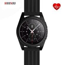 บลูทูธสมาร์ทนาฬิกานาฬิกาGS3กีฬาMTK2502 S Mart W Atch H eart Rate Monitorสำหรับa ndroid IOS PK dz09 DM09 gt08 g3 k18โทรศัพท์นาฬิกา