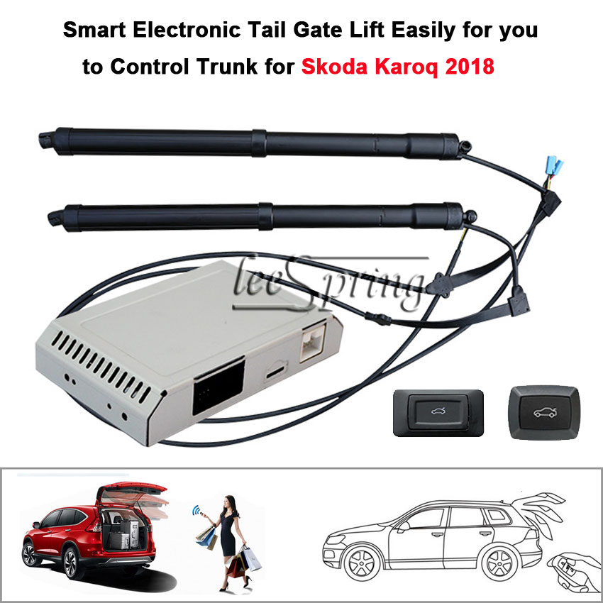 Electric Tail Gate Lift for Skoda Karoq 2018 with Latch