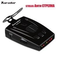 Excelvan STR535 Car Radar Detector Laser Anti Radar Detector Voice Strelka Alarm System Only For Russian