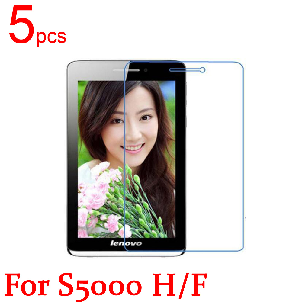 5pcs Ultra Clear/Matte/Nano anti-Explosion <font><b>LCD</b></font> Screen Protector Film Cover For <font><b>Lenovo</b></font> <font><b>S5000</b></font> S6000 H/F Protective Film + cloth image