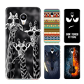 Meizu m3s mini Case Back Print Carton Phone Case For Meizu m3 Mini Matte TPU Soft Perfect Design Paiting Back Cover 18 patterns