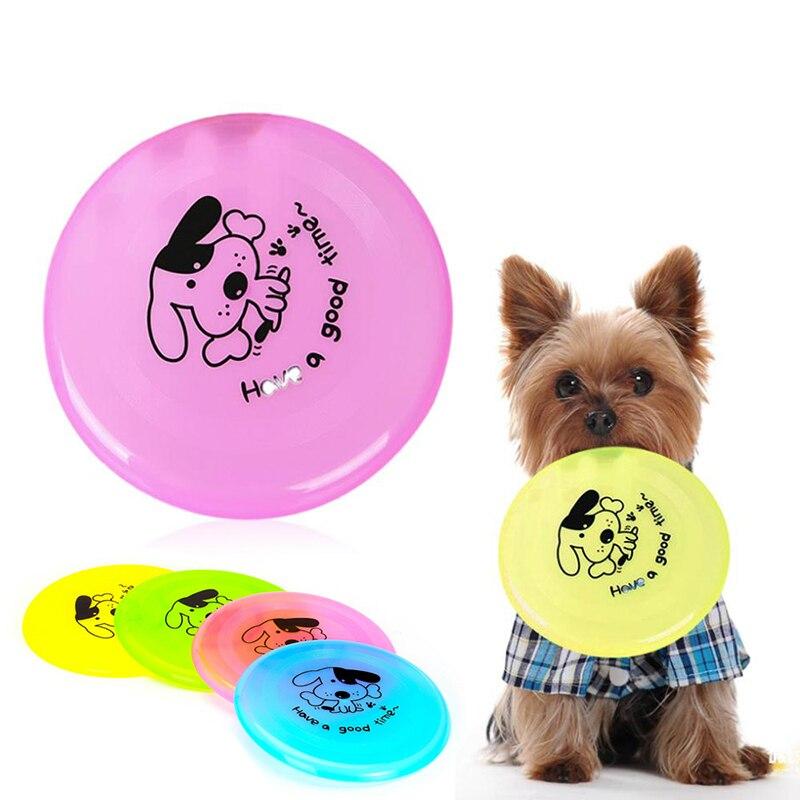 ᐅColor caramelo populares 1 unidades plástico PET Frisbee Dog ...