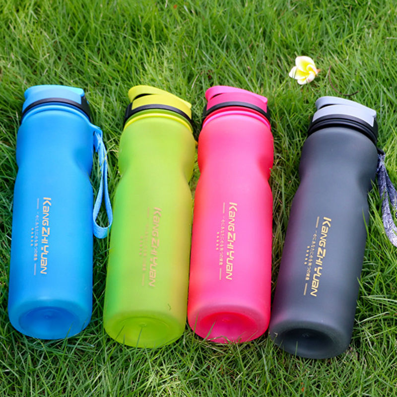 Купить с кэшбэком My Bottle Water Bottle 1000ml Plastic Sports Water Bottle Portable  Bike Outdoor Cycling Drink Fruit Infuser Shaker Bottles