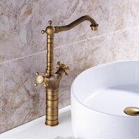 Antique Faucet Vintage Home Copper European Retro Faucet Low Lead Kitchen Faucet