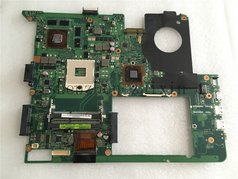 For ASUS N76V N76VM N76VJ N76VZ Laptop motherboard REV.2.2 PGA989 With graphic full test original laptop motherboard for asus x50z f5z mainboard for amd cpu with integrated graphics card 100