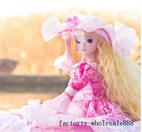 1/3 Large BJD SD Dolls Joints Moveable Toys Model Princess Make Up Birthday Gift American Girl Doll Girl Toys for Kids