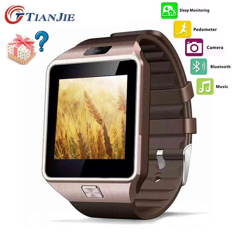 imágenes para Relojes inteligentes adultos de moda reloj inteligente reloj inteligente dz09 todos compatibles electrónicos reloj inteligente