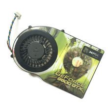 computer radiator with heatsink VGA cooler fan for XFX geforce 9600GT 9600GTX 9800 Video Graphics Card Cooling