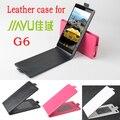 JIAYU G6 Case, New Высокого Качества Подлинная Filp Кожаный Чехол Case Для JIAYU G6 case Бесплатная Доставка