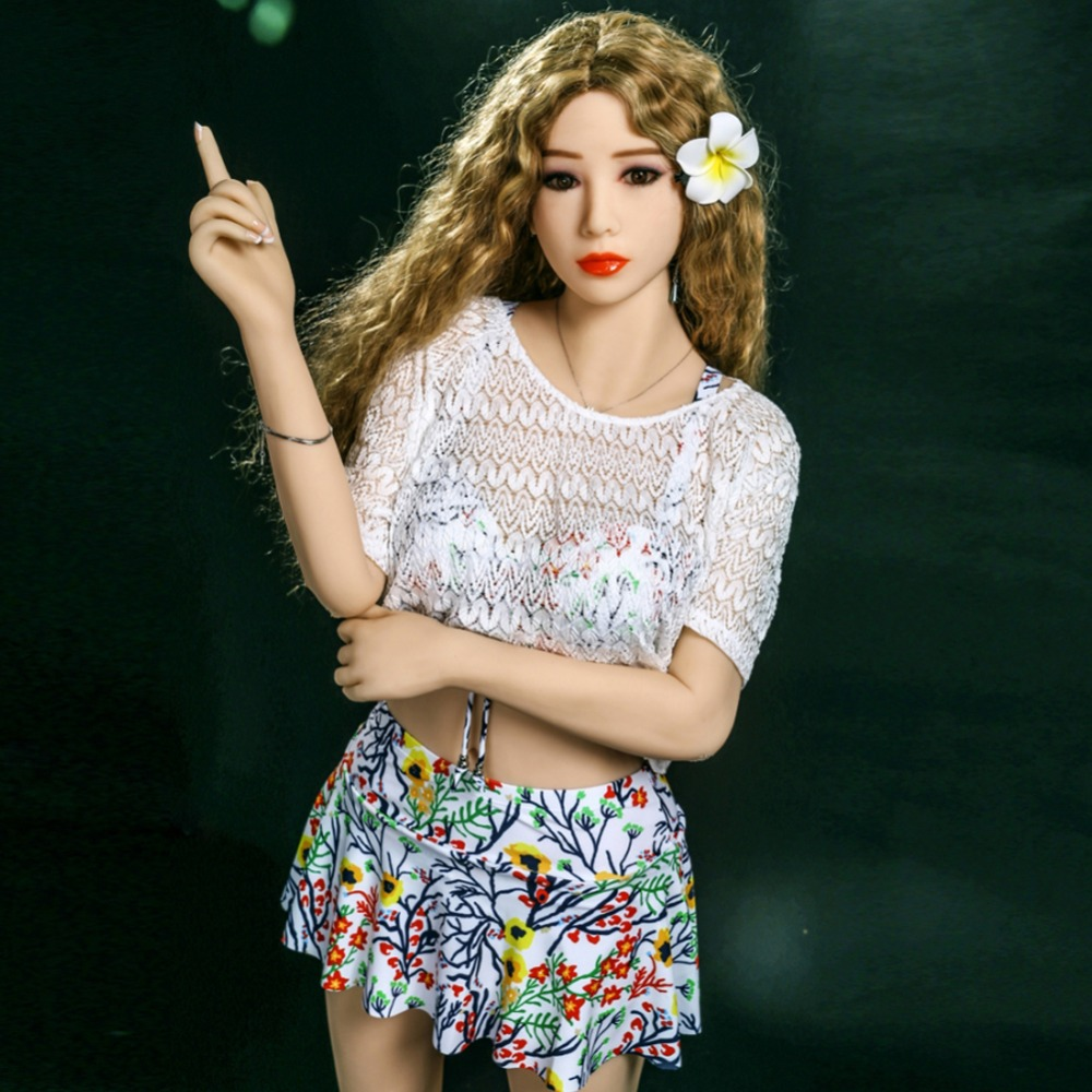 155Cm Real Silicone Sex Dolls For Men Small Breast A Cup Love Dolls Asian Japanese -2842