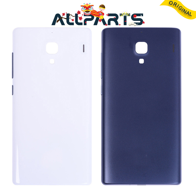 New New Housing For Xiaomi Redmi 1S Back Cover Case Battery Rear Door with Power Voluem Button Replacement Parts