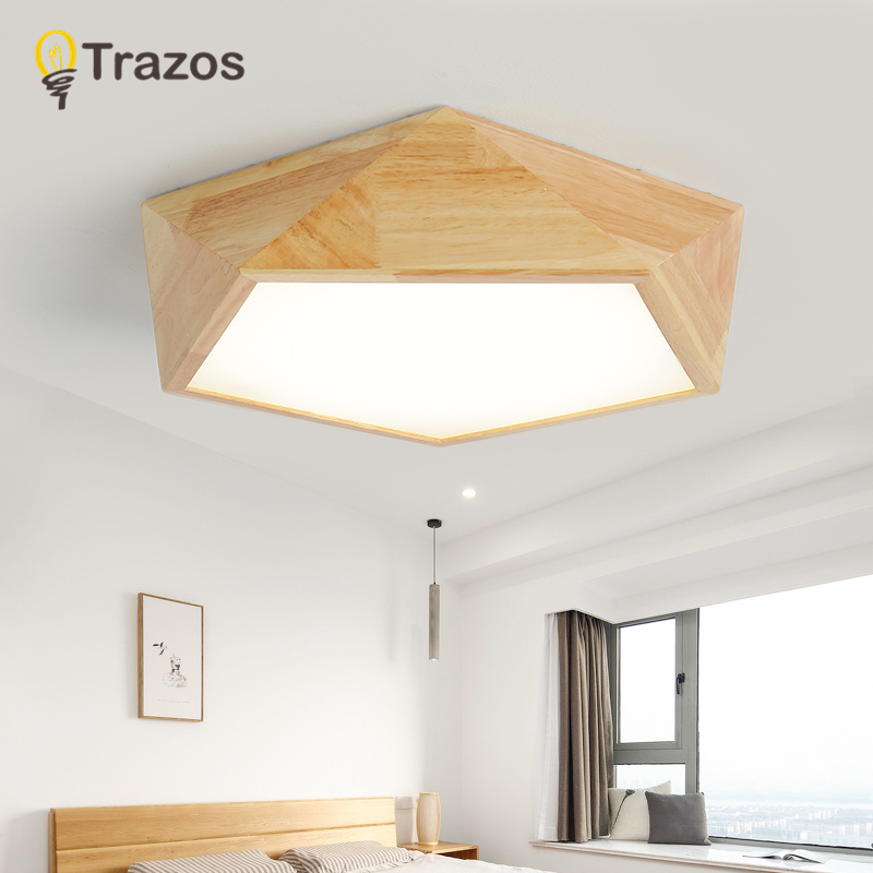 TRAZOS 2018 New Design Modern Led Ceiling Lights With Square Wood Frame Lamparas De Techo Japanese Style Lamps For Bedroom автоинструменты new design autocom cdp 2014 2 3in1 led ds150