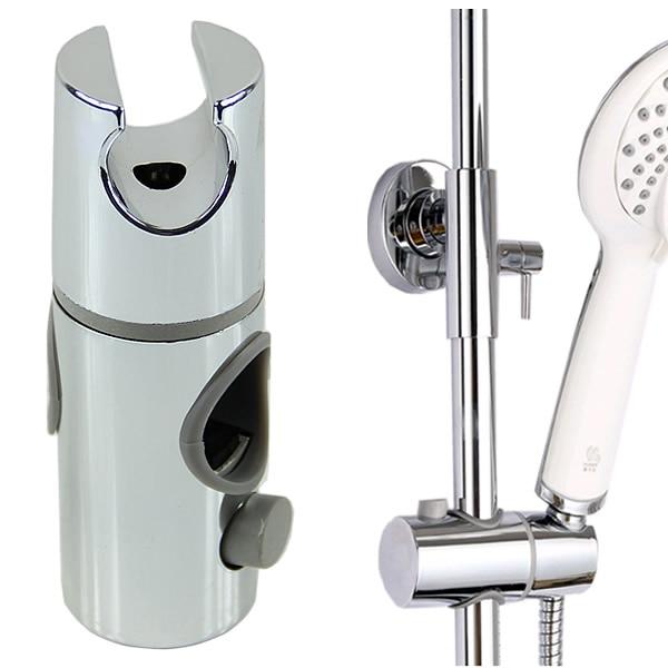 HNGCHOIGE ABS Plastic Head Holder Hand Held Shower Chrome Plated Bracket Holder For Bathroom Slide Bar High Quality