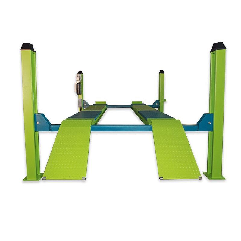 Four Post Lift >> Us 2200 0 Four Post Lift For Four Wheel Alignment Car Lift 3 5t Hydraulic Lift On Aliexpress