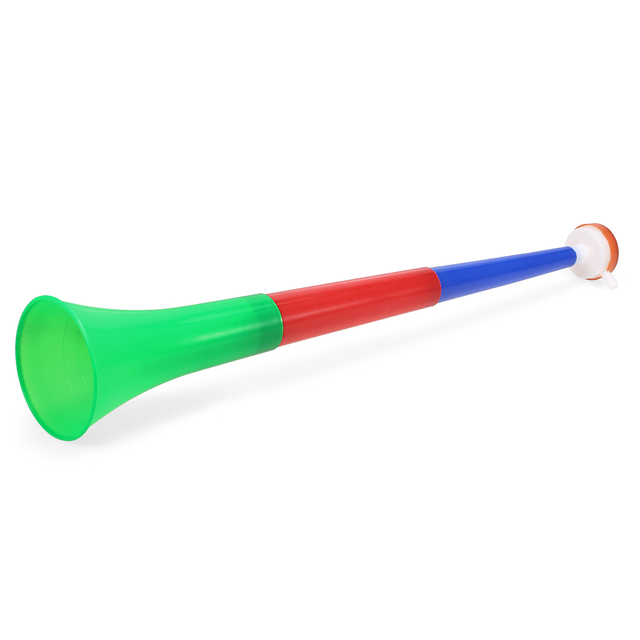 Basketball Team Sport Durable Plastic Horns Soccer Fan Trumpet Fans Cheering Plastic Toy Horns For Football Sports Events Party