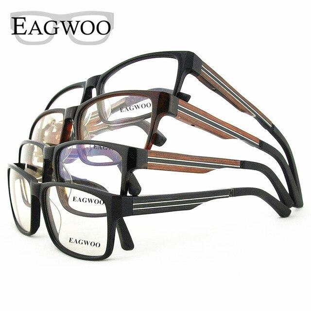 9b3d2a3a0181 Ebony Wooden Eyeglasses Wood Fashion Prescription Optical Frame Man Full Rim  Spectacel Fashion Big Face Myopia Glasses 81106834