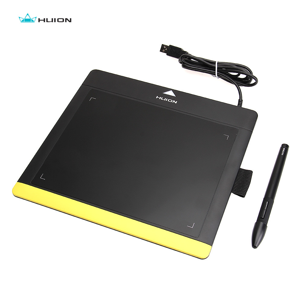 HUION Professional Digital Graphics Pen Tablet USB Signature Pads Graphics Tableta Kids Drawing Boards / Drawing Panel