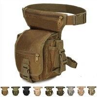 Bolsa cartuchera táctica ajustable para deportes al aire libre, bolsa de cinturón para caza, bolsa Molle para pierna, senderismo y ciclismo